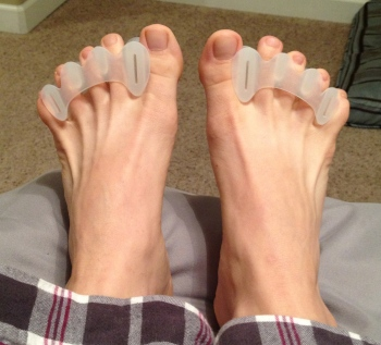 My feet with Correct Toes